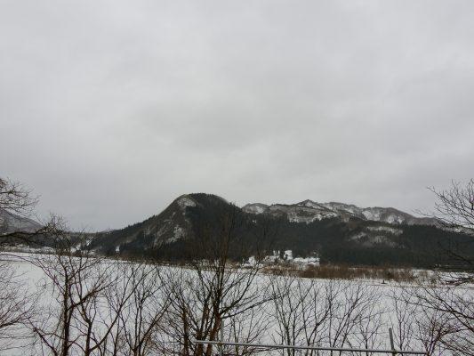 再び雪の予報
