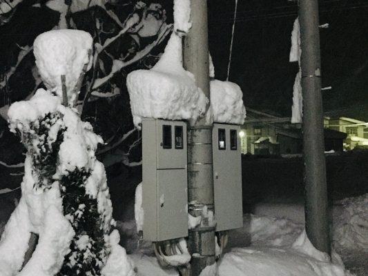 いきなりの大雪